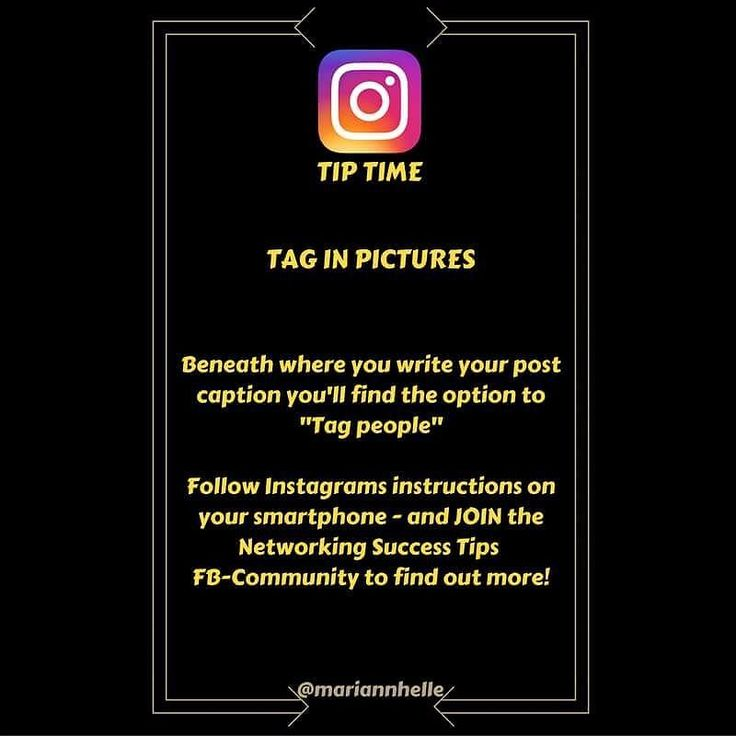 Tip time: Do you tag others in your pictures...   Why would you do it...  How you do it... And last but not least...  WHEN should you do it...  ... is discussed in the Networking Success Tips FB-community! Come and join us!   Want to learn more about building your business online? JOIN the Networking Success Tips FB-community! I would love to give you a welcoming post in there!  @mariannhelle  - LINK IN BIO! ----------------------------------