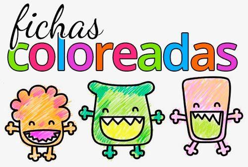 Actividades coloreables para niños