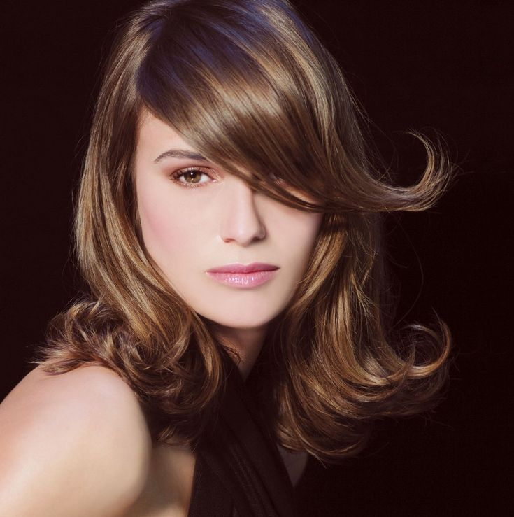 Medium Hairstyles For Thick Long Hair Square Face