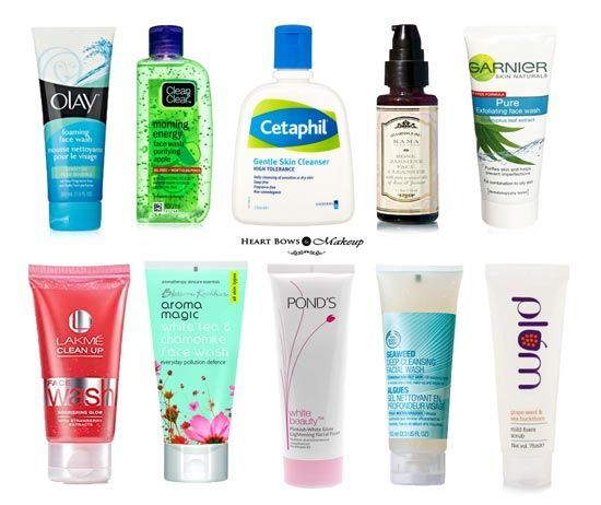 Best Face Wash For Combination Skin In India Our Top 10 Heart Bows Makeup In 2020 Best Face Wash Best Face Products Acne Face Wash