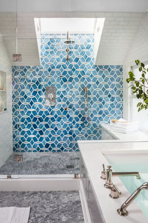 Stunning San Francisco Home — Cobalt + Gold #interiordesign #interiorinspiration #bathroom #blog