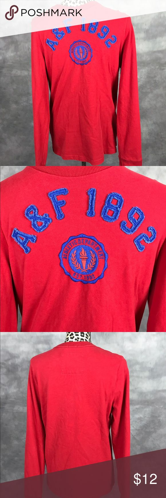 Abercrombie And Fitch Young Men t-shirt Great used condition Abercrombie & Fitch Shirts Tees - Long Sleeve