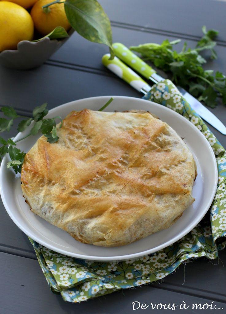 De vous à moi...: cuisine marocaine