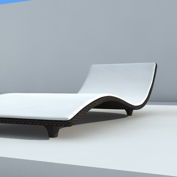 Simple sunbed design 3d max sunbed design by for Garden design in 3ds max