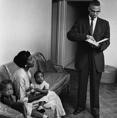 Malcom X And His Wife Betty Shabazzafrican American Betty