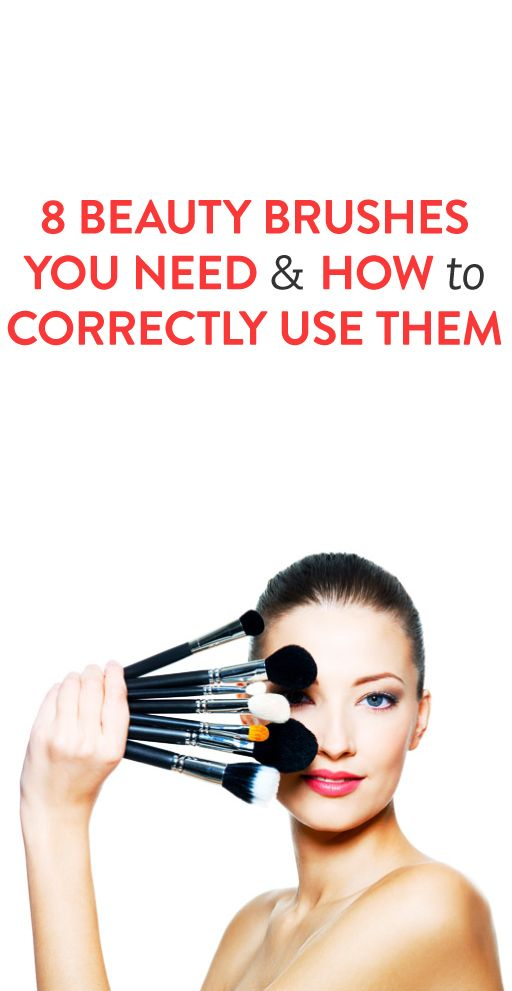 8 Beauty Brushes You Need & How to Correctly Use Them