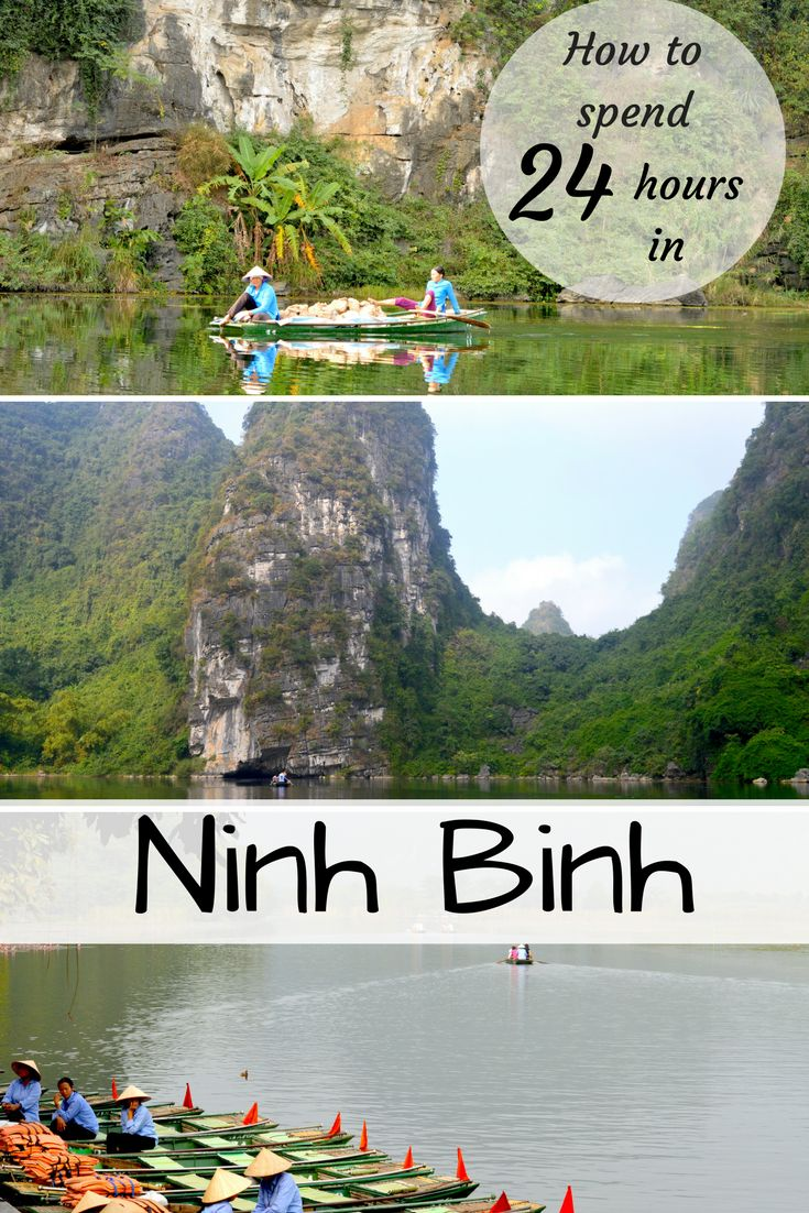 Ninh Binh (Vietnam) - an ideal spot for tourists due to its stunning landscapes of lush green paddy fields, striking limestone mountains and other nearby attractions.