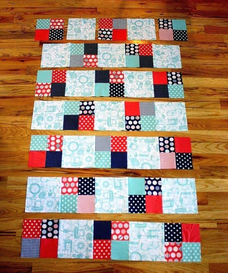 Quilts Little Boy Quilt Patterns Fast Four Patch Quilt Tutorial