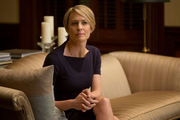 Get the Look: Claire Underwood's Elegant Minimalism from 'House of Cards' - theFashionSpot