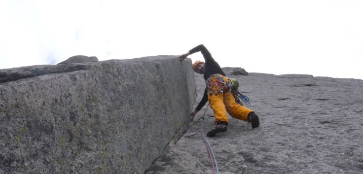 6 utrolige klatreturer i Norge - Vestpillaren på Presten