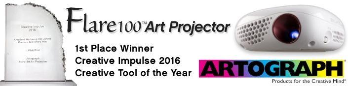 Flare100 Art Projector