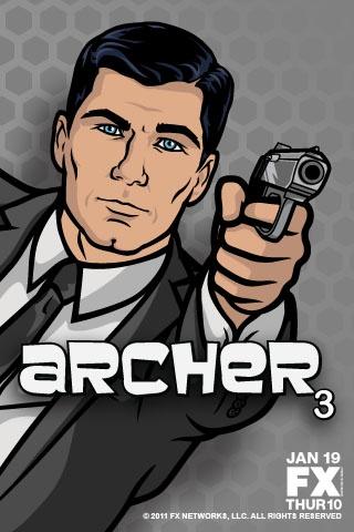 Archer Season 3 Starts January 19th on FX!