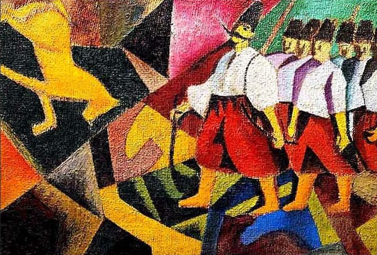 David Burlyuk, Ukranians, 1912