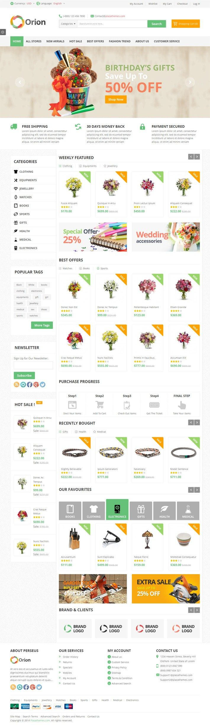 Orion – Mega Shop Responsive Magento Them