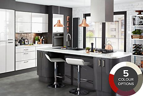 Phenomenal B Q Kitchen Raffello Kitchen In 2019 Bq Kitchens Home Interior And Landscaping Pimpapssignezvosmurscom