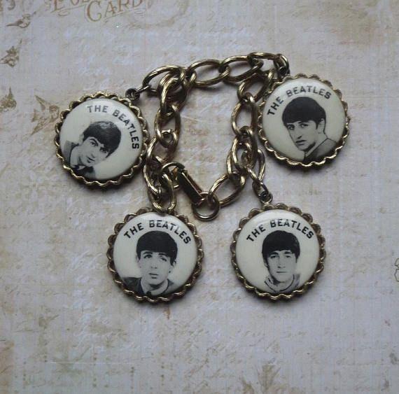 Beatles Charm Bracelet: 274 Best Just Charming, Vintage Charms Images On Pinterest