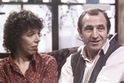 Rising Damp Rupert Rigsby is the grubby landlord of a seedy boarding house. His put-upon tenants inclue students Philip and Alan, and the glamourous Miss Jones.