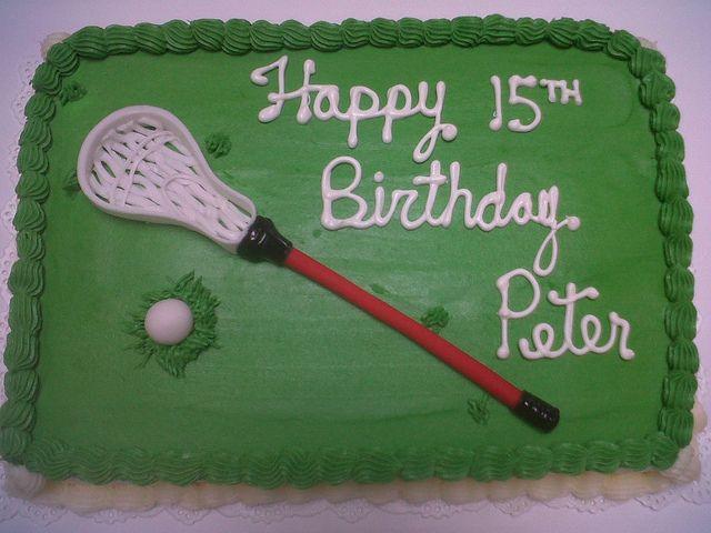 Lacrosse Cake