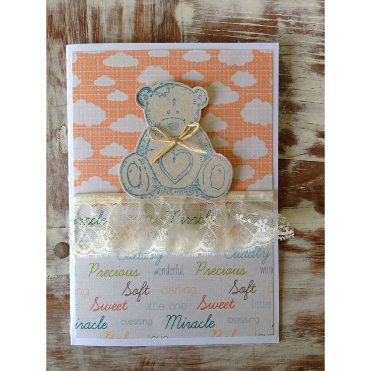 Baby card - made by Pammypumpkin