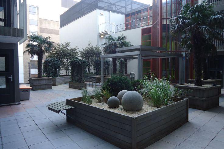 Spuihof Den Haag - Binnentuin