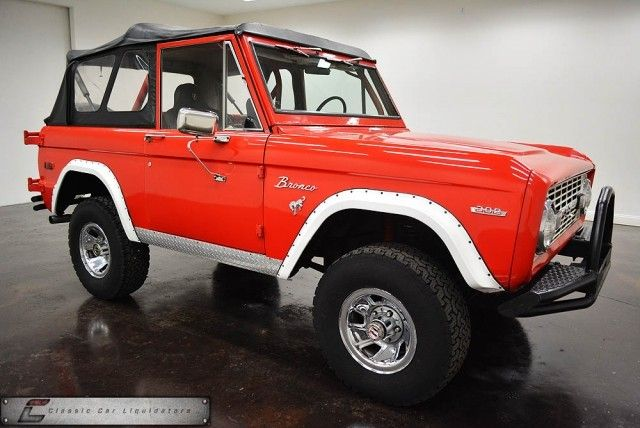 classic car liquidators 1972 ford bronco 4x4 14 999 how i roll pinterest cars 4x4 and. Black Bedroom Furniture Sets. Home Design Ideas