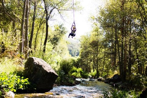 The longest zip line in California is hidden in the scenic mountains of Pauma Valley. #GetOutsideSD