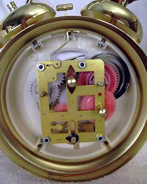 10 best mechanics images on pinterest alarm clock alarm clocks inside a wind up alarm clock fandeluxe Choice Image