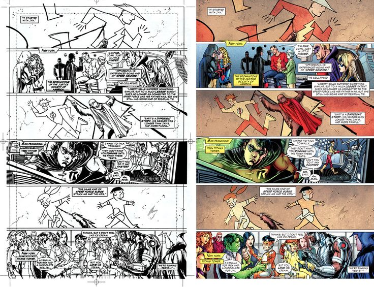 comic book coloring then and now - Comic Book Coloring