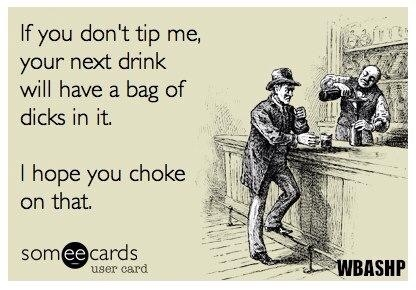 Funny!! Bartenders will enjoy this :-)