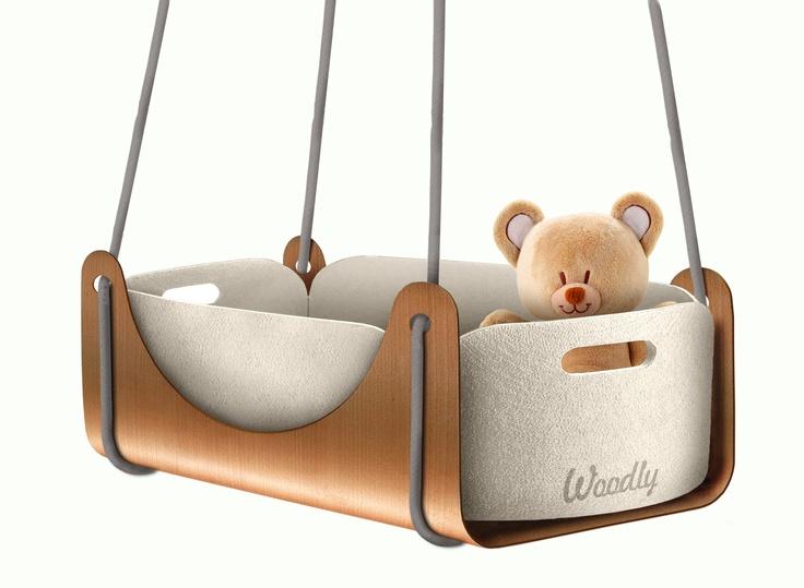 La culla a sospensione Roll. Roll ,The hanging cradle.