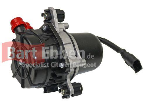 Peugeot 206 Luftpumpe Abgasrückführsystem 1.4 8V KFW 1618C0 neu nicht mehr lieferbar von PSA, wir haben aber eine Sonderproduktion fertigen lassen. Deshalb jetzt Sekundäre Luftpumpe lieferbar so lange der Vorrat reicht. https://bartebben.de/map/autoteile/peugeot-206-luftpumpe-abgasruckfuhrsystem-1.4-8v-kfw-1618c0-neu.html Die Peugeot 206 Sekundärluftpumpe bringt Luft in die Abgase bei geringen Temperaturen, damit die Abgaswerte korrekt sind.