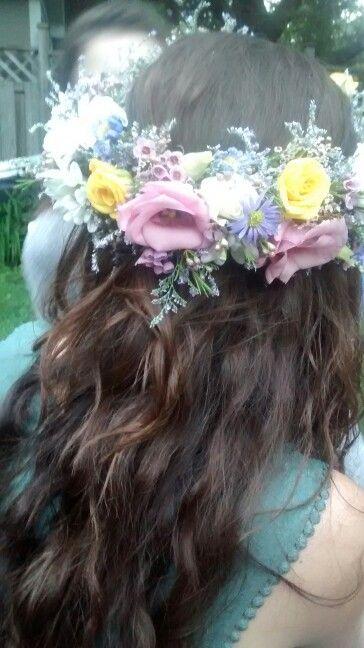 Meg's flower crown