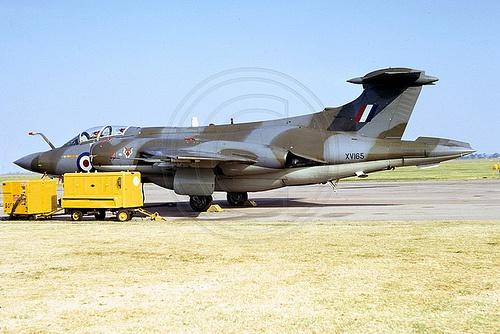 RAF 12 Squadron Blackburn Buccaneer S.2 XV165 (1973)