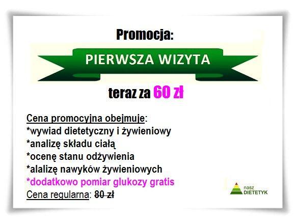 nasz DIETETYK Katowice - odchudzanie, cukrzyca, dieta, profilaktyka - Pakiety i Promocje