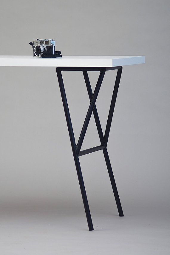 Faced metal table legs van NORDSOP op Etsy