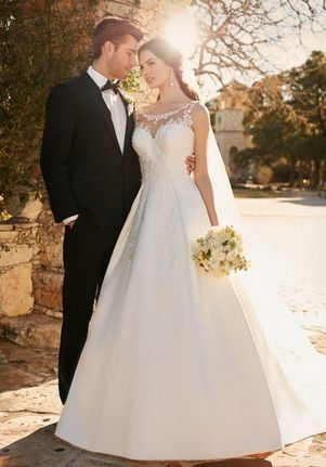 10a70b168bb Essense of Australia D2152 Ball Gown Wedding Dress