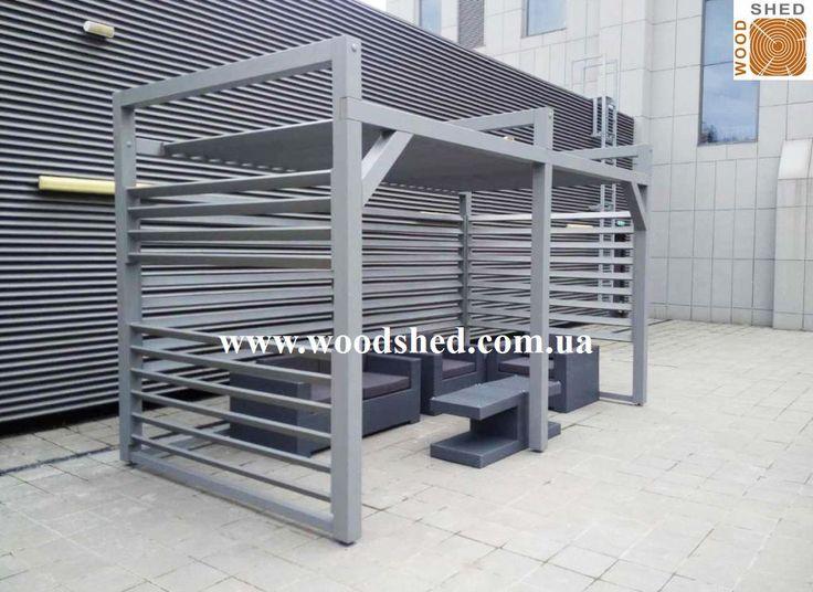 С мебелью еще лучше 🛋 В деревянную перголу от #Woodshed, которая была установлена 25 августа в Киеве в БЦ Торонто уже поставили мебель. Вскоре организуют озеленение 🌷.  Данная конструкция предназначена для отдыха персонала на террасе 9го этажа.  Спасибо клиентам за фото! http://woodshed.com.ua/content/9-pod-zakaz ☎ +38 (067) 464 64 52; +38 (095) 150 44 04 #подзаказ #под_заказ #беседка #навес #Киев