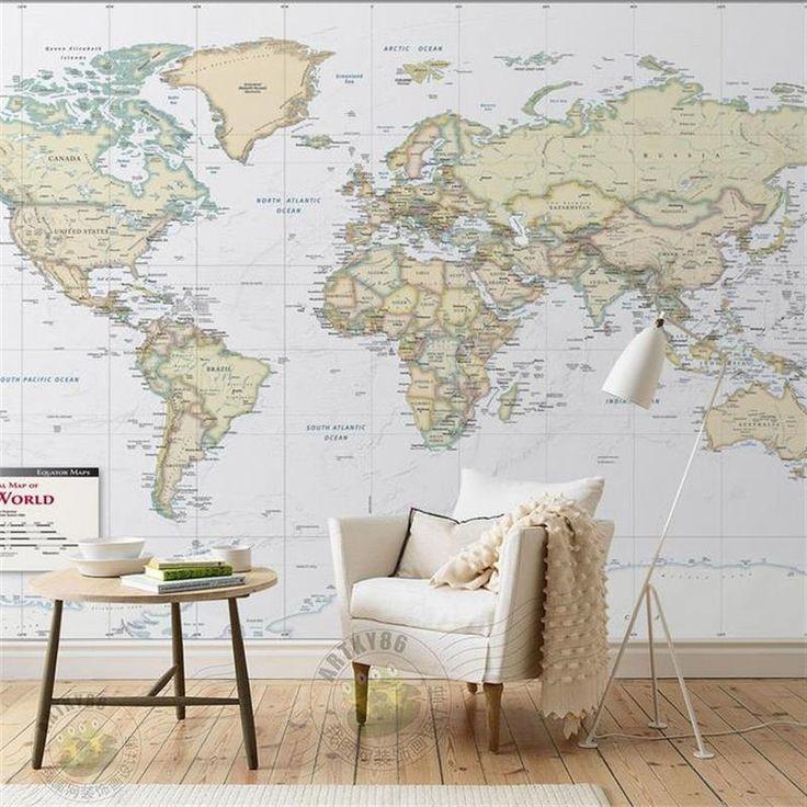 25 beste idee n over aangepaste muur op pinterest - Behang volwassene kamer behang ...