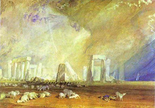 J.M.W. Turner: Stonehenge - 1825