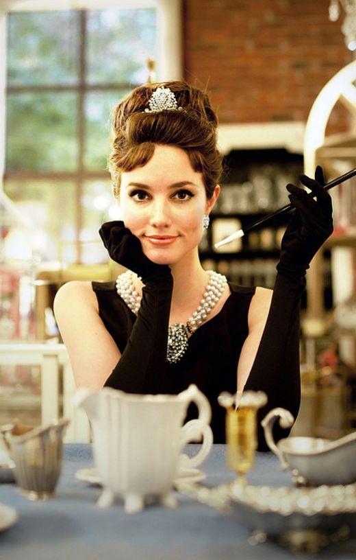 Audrey Hepburn Halloween costume