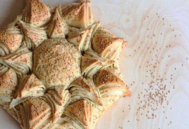 Как приготовить хлеб-подсолнух - рецепт, ингридиенты и фотографии
