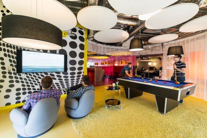 Google Office Design - great place for a break, and getting those creative juices flowing!