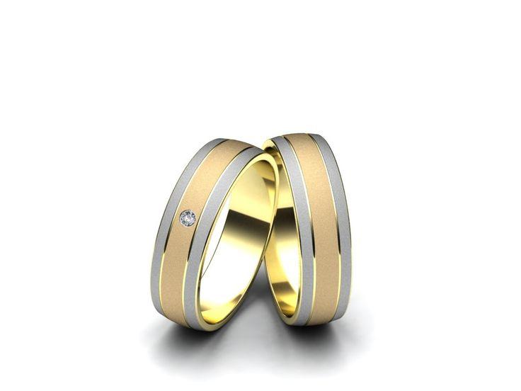 Snubní prsteny A230  #aiola #wedding #rings
