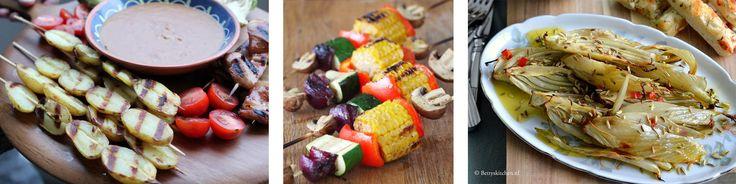 10 lekkere vega BBQ bijgerechten vind je samen met andere barbecuerecepten op eethetbeter.nl, het foodblog vol gezonde recepten voor gezinnen.