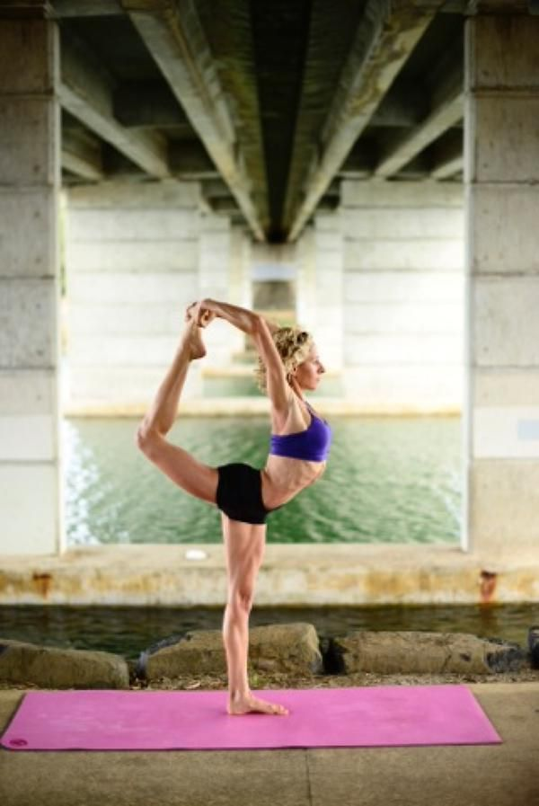 International Day of Yoga Australia Ambassador Santina Giardina-Chard.