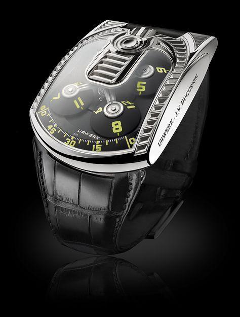 UR-103 Edition Spéciale | URWERK - Baumgartner & Frei Geneva | The future of fine watchmaking