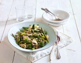 Lun kyllingsalat med Gremolata