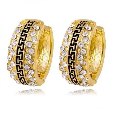 Złote kolczyki to wspaniały pomysł na prezent dla damy Waszego serca :) Podobają się Wam?  http://sklepmarcodiamanti.pl/produkt/kolczyki-zlote-model-mdltd-ge0002/