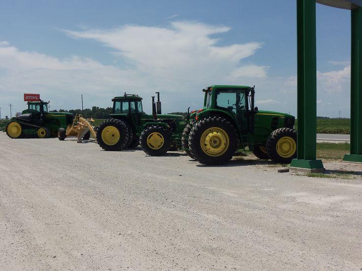 New & used John Deere tractors @ Tri Green.R-L7330,4840.9620T