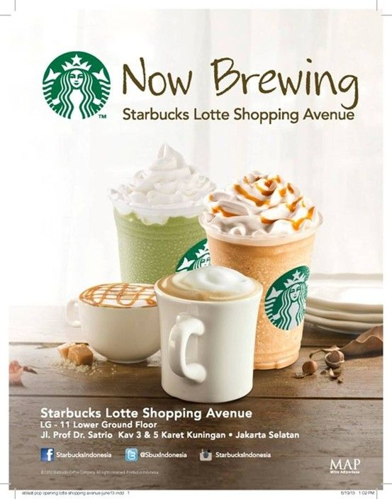 Starbucks is now open at Lotte Shopping Arcade!